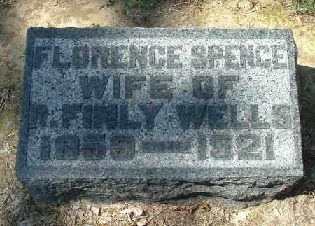 WELLS, FLORENCE - Gallia County, Ohio | FLORENCE WELLS - Ohio Gravestone Photos