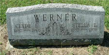 WERNER, STELLA E - Gallia County, Ohio | STELLA E WERNER - Ohio Gravestone Photos
