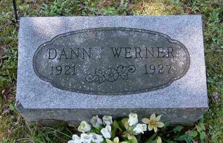 WERNER, DANNY - Gallia County, Ohio   DANNY WERNER - Ohio Gravestone Photos