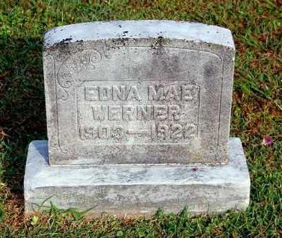 WERNER, EDNA MAE - Gallia County, Ohio | EDNA MAE WERNER - Ohio Gravestone Photos