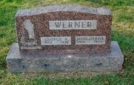 WERNER, GEORGE A - Gallia County, Ohio | GEORGE A WERNER - Ohio Gravestone Photos