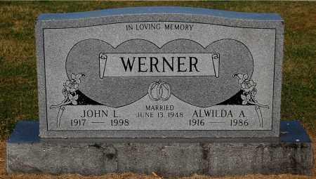 WERNER, ALWILDA A - Gallia County, Ohio | ALWILDA A WERNER - Ohio Gravestone Photos