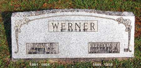 WERNER, REBECCA J - Gallia County, Ohio | REBECCA J WERNER - Ohio Gravestone Photos
