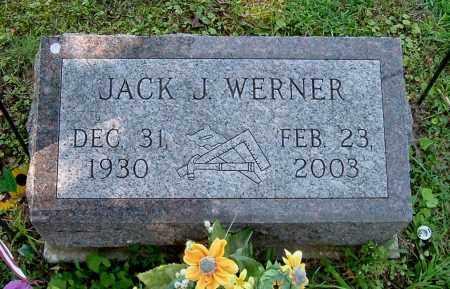 WERNER, JACK J - Gallia County, Ohio | JACK J WERNER - Ohio Gravestone Photos