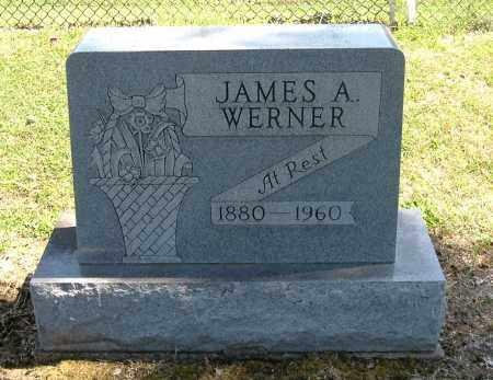 WERNER, JAMES A - Gallia County, Ohio | JAMES A WERNER - Ohio Gravestone Photos