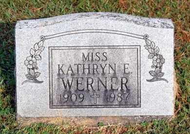 WERNER, KATHRYN E - Gallia County, Ohio   KATHRYN E WERNER - Ohio Gravestone Photos