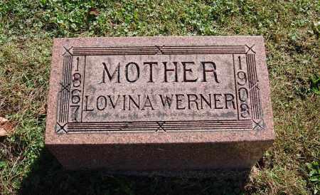 WERNER, LOVINA - Gallia County, Ohio   LOVINA WERNER - Ohio Gravestone Photos