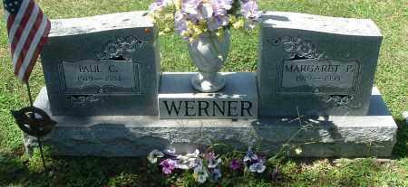 WERNER, MARGARET P - Gallia County, Ohio   MARGARET P WERNER - Ohio Gravestone Photos