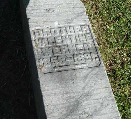 WERNER, VALENTINE - Gallia County, Ohio | VALENTINE WERNER - Ohio Gravestone Photos