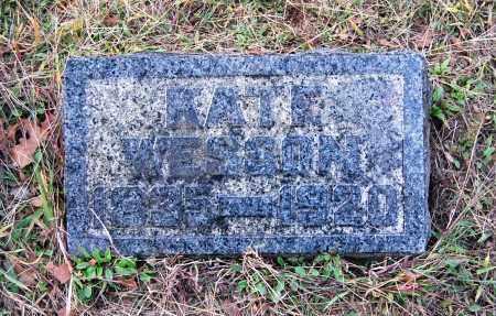 WESSON, KATE - Gallia County, Ohio | KATE WESSON - Ohio Gravestone Photos