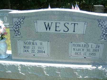 WEST, HOWARD L. JR. - Gallia County, Ohio | HOWARD L. JR. WEST - Ohio Gravestone Photos