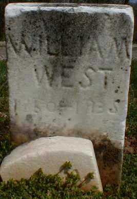 WEST, WILLIAM - Gallia County, Ohio | WILLIAM WEST - Ohio Gravestone Photos