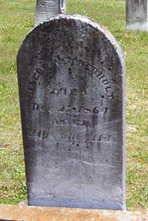 WETHERHOLT, JACOB - Gallia County, Ohio | JACOB WETHERHOLT - Ohio Gravestone Photos