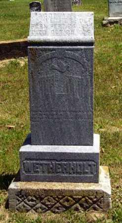 WETHERHOLT, JACOB WASHINGTON - Gallia County, Ohio | JACOB WASHINGTON WETHERHOLT - Ohio Gravestone Photos