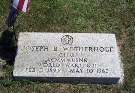 WETHERHOLT, JOSEPH BLAZER - Gallia County, Ohio | JOSEPH BLAZER WETHERHOLT - Ohio Gravestone Photos