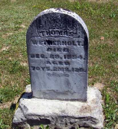 WETHERHOLT, THOMAS - Gallia County, Ohio | THOMAS WETHERHOLT - Ohio Gravestone Photos