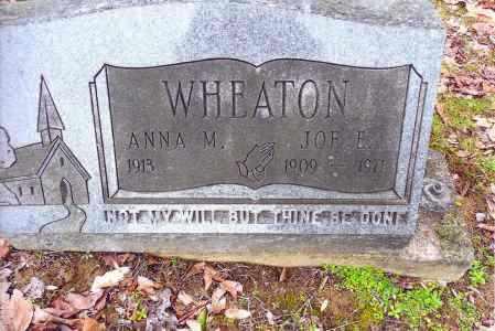 WHEATON, JOE E. - Gallia County, Ohio | JOE E. WHEATON - Ohio Gravestone Photos