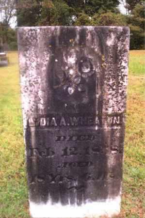 WHEATON, LYDIA - Gallia County, Ohio | LYDIA WHEATON - Ohio Gravestone Photos