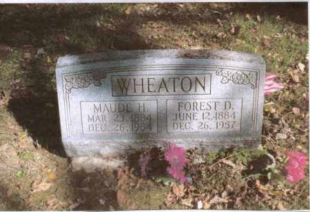 WHEATON, MAUDE - Gallia County, Ohio | MAUDE WHEATON - Ohio Gravestone Photos