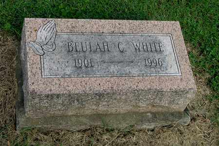 WHITE, BEULAH C - Gallia County, Ohio | BEULAH C WHITE - Ohio Gravestone Photos