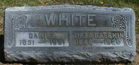 WHITE, DANIEL - Gallia County, Ohio   DANIEL WHITE - Ohio Gravestone Photos