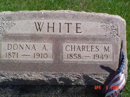 WHITE, DONNA A. - Gallia County, Ohio | DONNA A. WHITE - Ohio Gravestone Photos