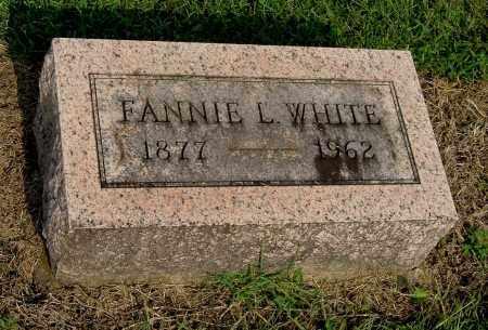 WHITE, FANNIE L - Gallia County, Ohio   FANNIE L WHITE - Ohio Gravestone Photos