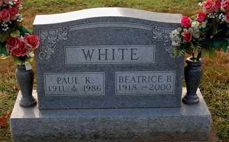 WHITE, BEATRICE B - Gallia County, Ohio | BEATRICE B WHITE - Ohio Gravestone Photos