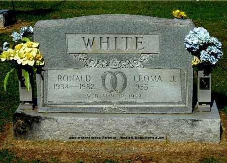 WHITE, RONALD - Gallia County, Ohio   RONALD WHITE - Ohio Gravestone Photos