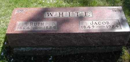 WHITE, JACOB - Gallia County, Ohio | JACOB WHITE - Ohio Gravestone Photos