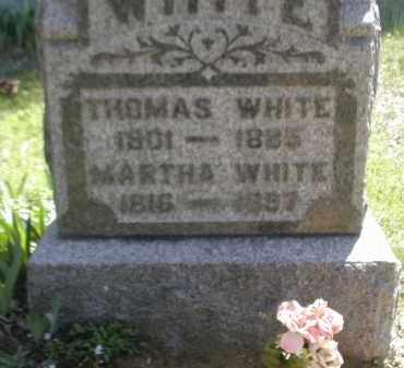 WHITE, THOMAS - Gallia County, Ohio | THOMAS WHITE - Ohio Gravestone Photos