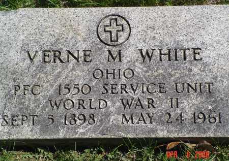 WHITE, VERNE M. - Gallia County, Ohio | VERNE M. WHITE - Ohio Gravestone Photos