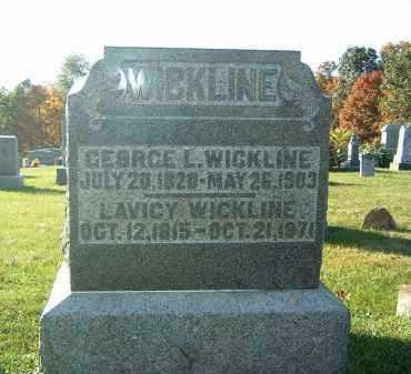 WICKLINE, LAVICY - Gallia County, Ohio | LAVICY WICKLINE - Ohio Gravestone Photos