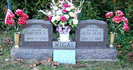 WIGAL, CHESTER G - Gallia County, Ohio | CHESTER G WIGAL - Ohio Gravestone Photos