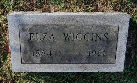 WIGGINS, ELZA - Gallia County, Ohio   ELZA WIGGINS - Ohio Gravestone Photos
