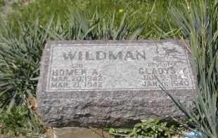WILDMAN, GLADYS - Gallia County, Ohio   GLADYS WILDMAN - Ohio Gravestone Photos