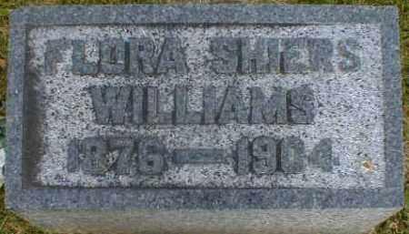 SHIERS WILLIAMS, FLORA - Gallia County, Ohio | FLORA SHIERS WILLIAMS - Ohio Gravestone Photos