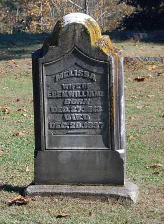 WILLIAMS, MELISSA - Gallia County, Ohio   MELISSA WILLIAMS - Ohio Gravestone Photos