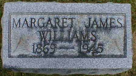 JAMES WILLIAMS, MARGARET - Gallia County, Ohio | MARGARET JAMES WILLIAMS - Ohio Gravestone Photos