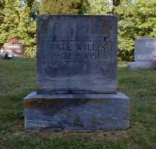 WILLIS, KATE - Gallia County, Ohio | KATE WILLIS - Ohio Gravestone Photos