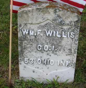 WILLIS, WILLIAM F. - Gallia County, Ohio   WILLIAM F. WILLIS - Ohio Gravestone Photos