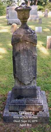 WILSON, SARAH E - Gallia County, Ohio | SARAH E WILSON - Ohio Gravestone Photos