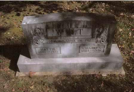 WILT, HATTIE - Gallia County, Ohio | HATTIE WILT - Ohio Gravestone Photos