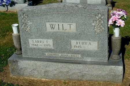 WILT, RUBY A - Gallia County, Ohio   RUBY A WILT - Ohio Gravestone Photos