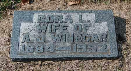 WINEGAR, CORA L - Gallia County, Ohio | CORA L WINEGAR - Ohio Gravestone Photos
