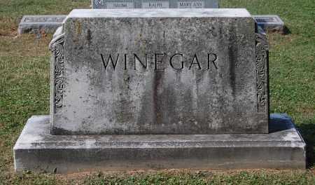 WINEGAR, FAMILY MONUMENT #3 - Gallia County, Ohio | FAMILY MONUMENT #3 WINEGAR - Ohio Gravestone Photos