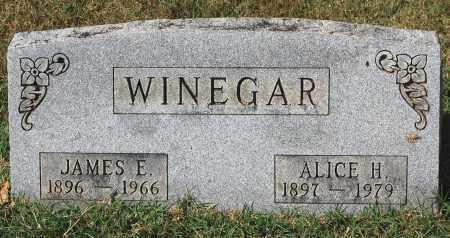 WINEGAR, ALICE H - Gallia County, Ohio | ALICE H WINEGAR - Ohio Gravestone Photos