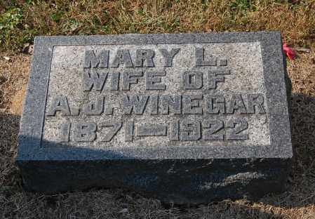 ROUSH WINEGAR, MARY LEOTA - Gallia County, Ohio   MARY LEOTA ROUSH WINEGAR - Ohio Gravestone Photos