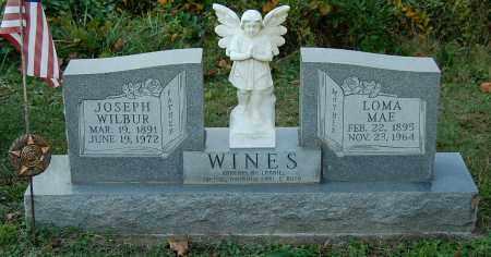 WINES, JOSEPH WILBUR - Gallia County, Ohio | JOSEPH WILBUR WINES - Ohio Gravestone Photos