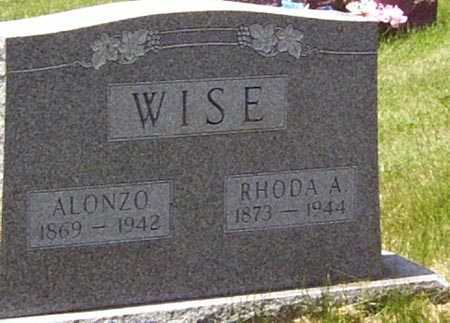 WISE, RHODA ANNIE - Gallia County, Ohio | RHODA ANNIE WISE - Ohio Gravestone Photos